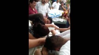 Video 3 últimos segundos del cuerpo de Luciano Gar