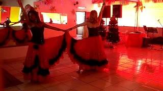 Viviane e Vanessa Belle Andalouse Dança Cigana