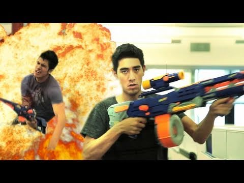 Office Warfare - Nerf Gun