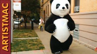 Halloween 2015 Inflatable Panda Suit