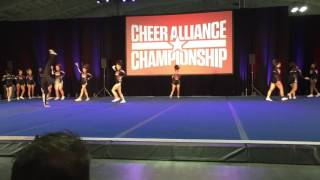 Pro Athletics ProEd Cheer Alliance 2016