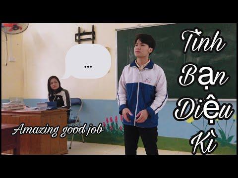 TÌNH BẠN DIỆU KÌ - Ricky Star & Lăng LD & Amee | HÀ HUY cover trên lớp học