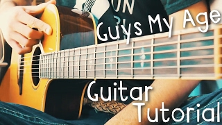 Guys My Age Guitar Tutorial by Hey Violet // Hey Violet Guitar Lesson!