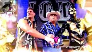 "2013: Cody Rhodes & Goldust 2nd WWE Theme Song (& Titantron) - ""Gold And Smoke'' + Download Link ᴴᴰ"