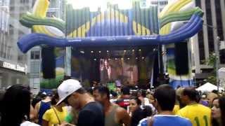 Faixa Amarela- Zeca Pagodinho no Brazilian Day em NY 2013