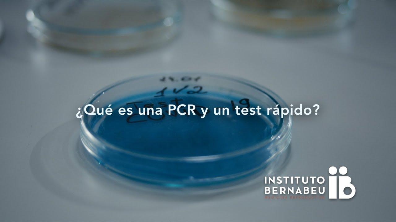 Covid-19 – ¿Qué es una PCR y un test rápido?