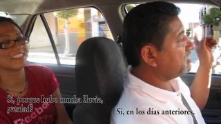 Real Spanish conversations: in the taxi/en el taxi