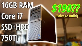 Ultra-Cheap Gaming PC: Better than you'd think ($190 total cost)