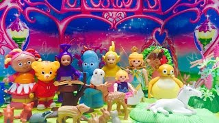 IN THE NIGHT GARDEN, Teletubbies and Twirlywoos Toys Visit Fairies!