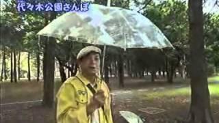 ちい散歩で傘アート