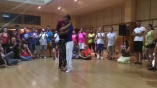 Helio Santos e Ana Oliveira festival Kizomba Sevilha 2016