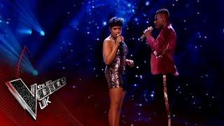 Mo & Jennifer Hudson perform 'Beneath Your Beautiful': The Final   The Voice UK 2017
