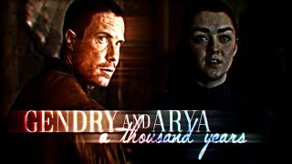 Gendry & Arya || a thousand years