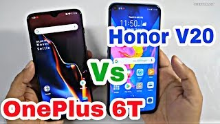 Honor View 20 Vs OnePlus 6T Comparison Details Including Camera Test