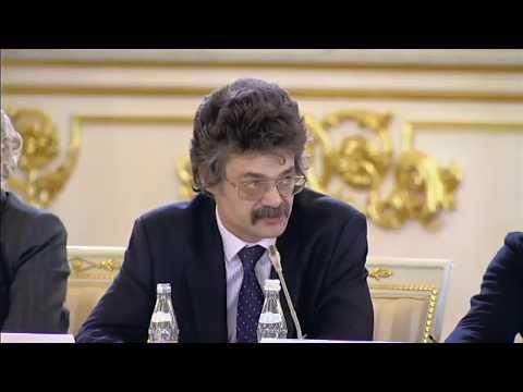 Выступление Константина Михайлова на совете при президенте по культуре 21.12.17