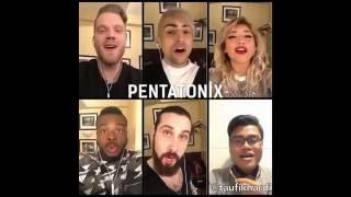 Pentatonix - If I Ever Fall in Love (feat. Taufik Hardiansyah) on Acapella