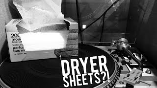 Can Dryer Sheets Reduce Turntable Static?
