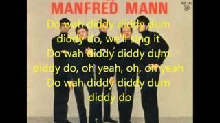 Do Wah Diddy - Manfred Mann (Lyrics)