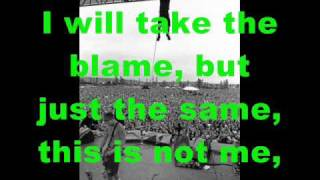 Pearl Jam - The End Lyrics