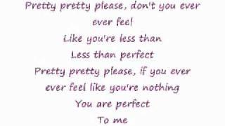 Less Than Perfect - P!nk  [Clean Lyrics]
