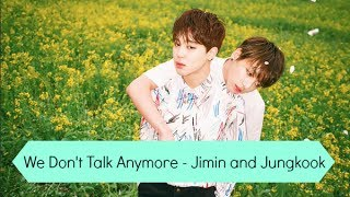 We Don't Talk Anymore Pt.2 - Jimin and Jungkook [BTS FESTA] Cover (Jikook)