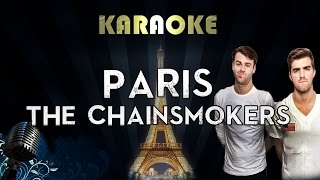 The Chainsmokers – Paris (Karaoke Instrumental Lyrics)