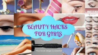 7 beauty life hacks for girls. Girls must watch this video and try this hacks।sadia's beauty care.