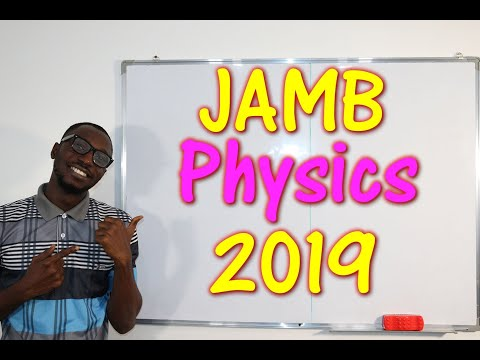 JAMB CBT Physics 2019 Past Questions 1 - 20