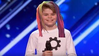 Kid on America's Got talent dances to Gummo By 6ix9ine