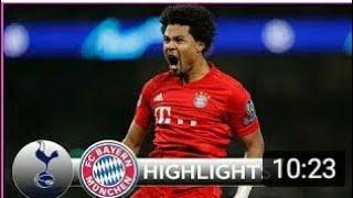 Bayern Munich Vs Tottenham Hotspur 7-2😱 HIGHLIGHT