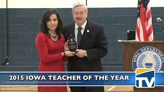 2015 Iowa Teacher of the Year - DMPS-TV News