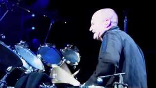Phil Collins drumming on NaOH!