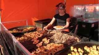Funny food 4: Finland, Helsinki food on the market.