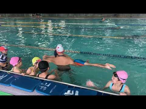 第二次游泳課之阿崴加油 - YouTube