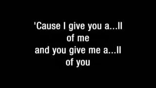 John Legend - All of me  karaoke & lyrics (kizomba Version)