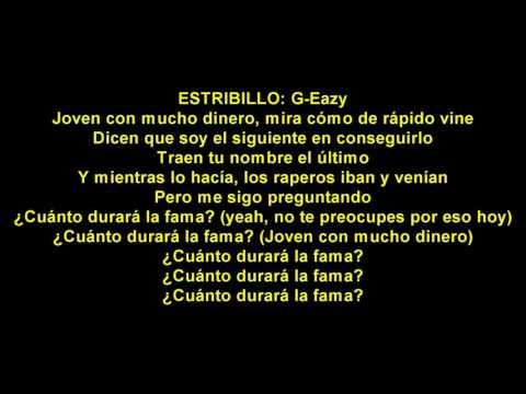 Almost Famous En Espanol de G Eazy Letra y Video