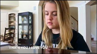 I Hate You I Love You (explicit) Cover