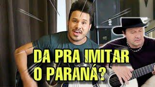 MARCELO MARTINS IMITA CANTOR PARANÁ! PARECE?