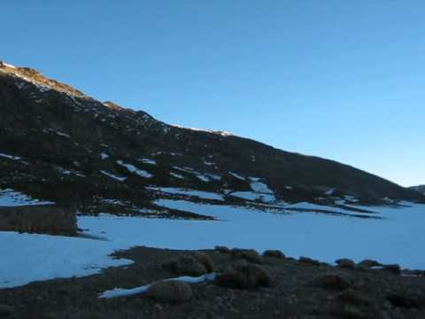 Climbing Mgoun in Winter with KE Adventure Travel. The Tarkeddit Refuge