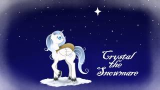 Crystal the Snowmare - (Frosty the Snowman Ponified, SkyBolt, LooneyChick09, and DarkPhoenix98042)