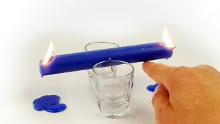 Flaming Candle Seesaw!