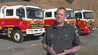 Hino 500 Series GT 4x4: Tasmanian Fire Service