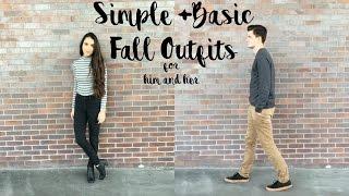 Simple+Basic Fall OOTD ft. my boyfriend!