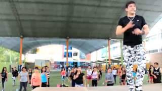Alan Gutiérrez en el Rumba Fitness