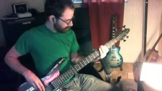 """Jeff Favignano  Brick - """"Dazz"""" Bass Cover"""