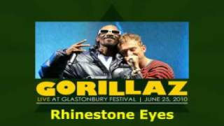 Gorillaz - Rhinestone Eyes (Live at Glastonbury 2010)