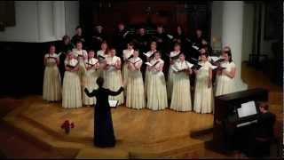Calme de nuits - Camille Saint-Saens / mixed choir Decoro, Latvia