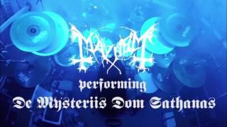 "Mayhem performs ""De Mysteriis Dom Sathanas"" @Fuzz, 26/5/2017"