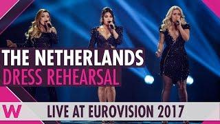 "Netherlands: OG3NE ""Lights And Shadows"" semi-final 2 dress rehearsal @ Eurovision 2017"