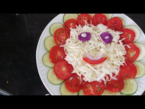 Download Thumbnail For Salad Decoration Easy Ideas By Neelam Ki